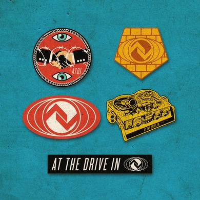 At The Drive-In Logo Vinyl Sticker Pack