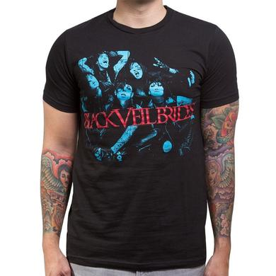 Black Veil Brides Blue Men's Slim Tee