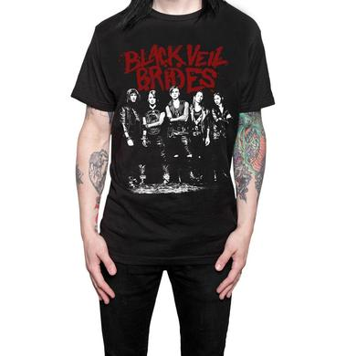 Black Veil Brides Red Logo T-shirt