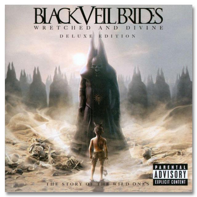 Black Veil Brides Wretched & Divine - Deluxe Edition CD/DVD