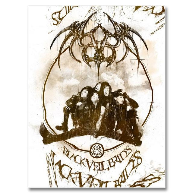 Black Veil Brides Demon Cleaner Poster