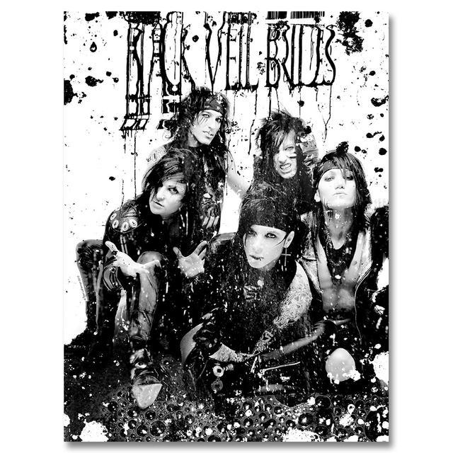 Black Veil Brides Blackened Sludge Poster