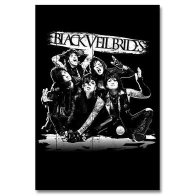 Black Veil Brides Reverse Shadow Poster