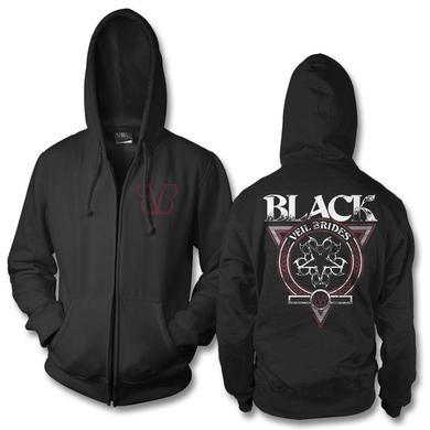 Black Veil Brides Black Seal Zip Hoodie
