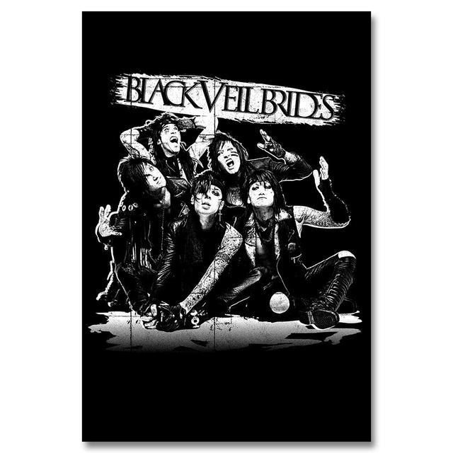 Black Veil Brides Reverse Shadow Poster