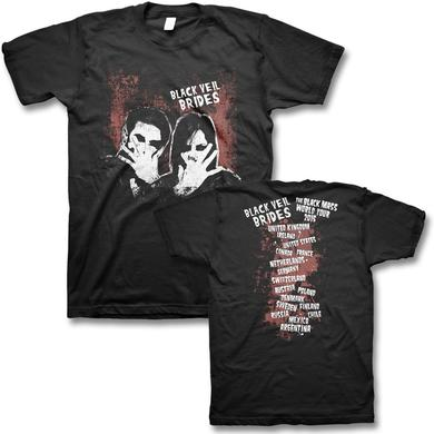 Black Veil Brides Fade 2015 World Tour T-shirt
