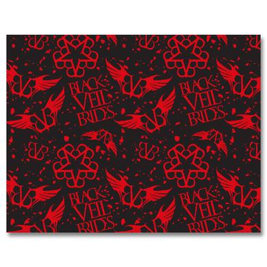 Black Veil Brides Black Veil Wrapping Paper