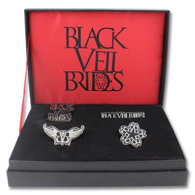 Black Veil Brides BVB Pin Box Set