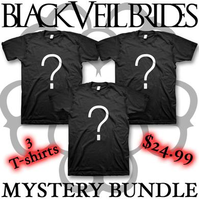 Black Veil Brides Mystery Bundle - 3 T-shirts (Men's)