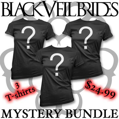 Black Veil Brides Mystery Bundle - 3 T-shirts (Women's)