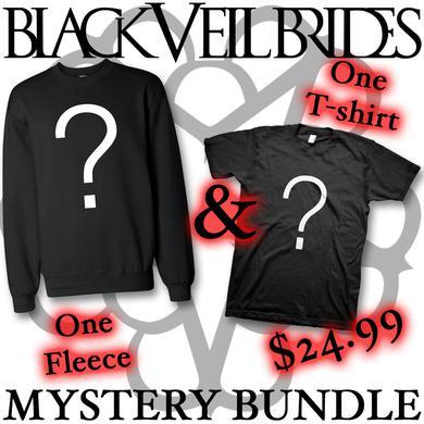 Black Veil Brides Mystery Bundle - T-shirt & Fleece