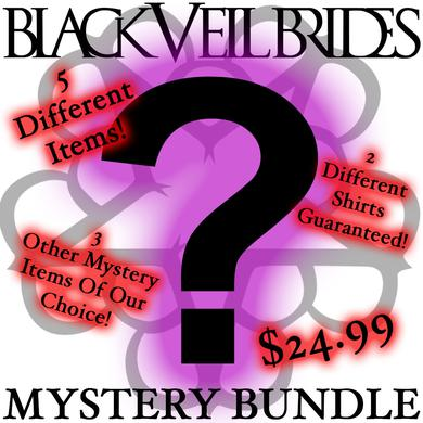Black Veil Brides 5 Piece Mystery Bundle