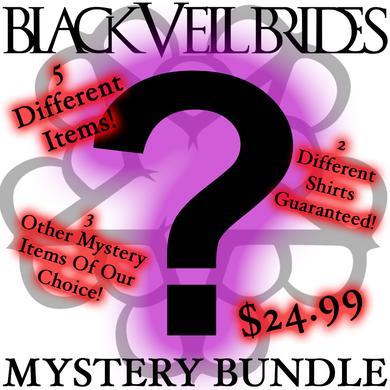 Black Veil Brides 5 Piece Mystery Bundle