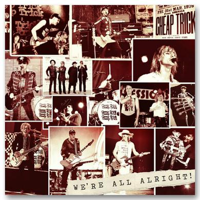 Cheap Trick We're All Alright! Deluxe CD