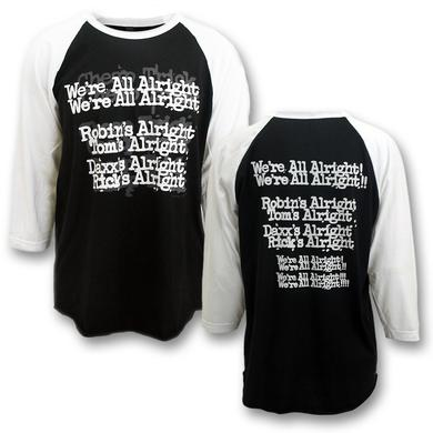 Cheap Trick Everybody Is Alright Raglan Shirt