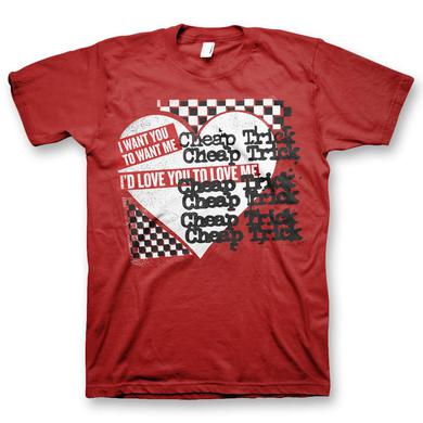 Cheap Trick Love You To Love Me T-Shirt (Men's)