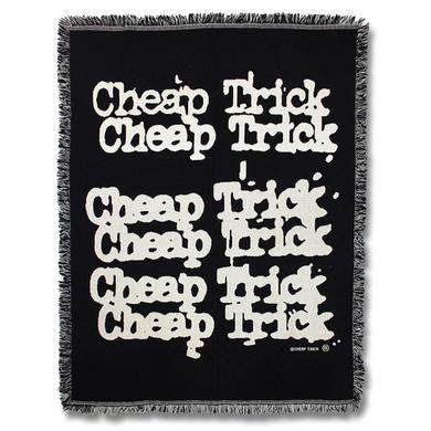 Cheap Trick Logo Woven Blanket