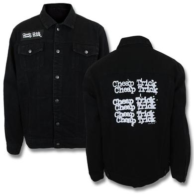 Cheap Trick Logo Denim Jacket