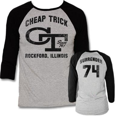 Cheap Trick Team Surrender Raglan Shirt
