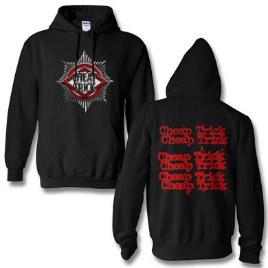 Cheap Trick Badge Pullover Hoodie