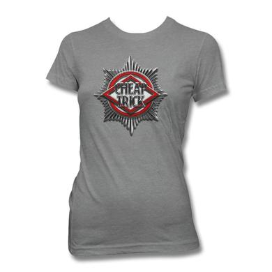 Cheap Trick Badge Women's T-Shirt - Heather Grey