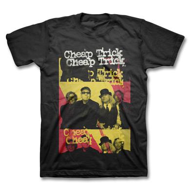 Cheap Trick Red & Yellow T-shirt