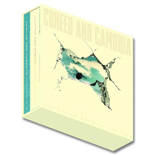 Coheed and Cambria The Color Before The Sun Deluxe Limited Edition Box Set