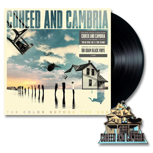 Coheed and Cambria The Color Before The Sun LP & Lapel Pin