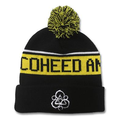 Coheed and Cambria Embroidered Keywork Bobble Beanie