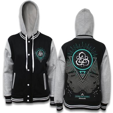 Coheed and Cambria Division Hooded Varsity Jacket - Women's