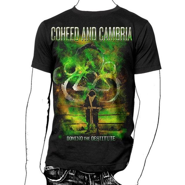 Coheed and Cambria Domino The Destitute with Summer 2012 Tour Dates T-Shirt