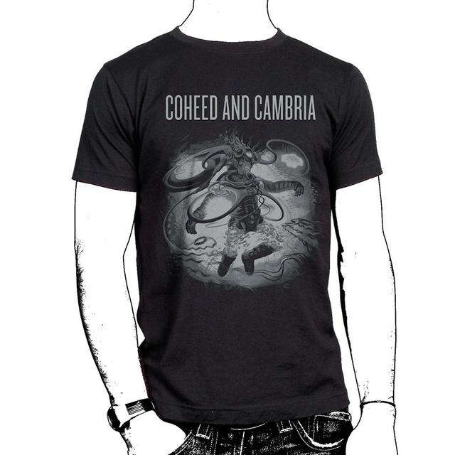 Coheed and Cambria Silver Tour (Afterman) 10/16 - 11/09 Tour Back T-Shirt