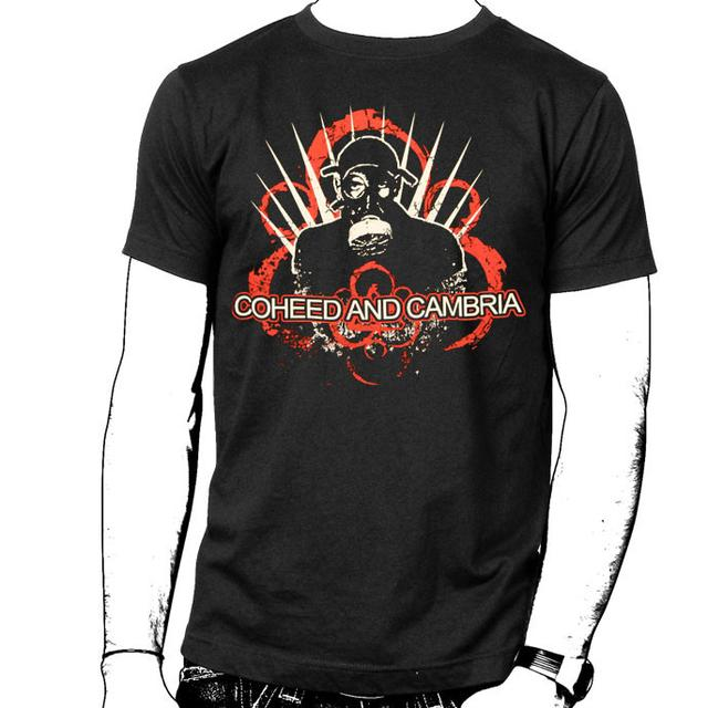 Coheed and Cambria Red Gas Mask Youth T-Shirt