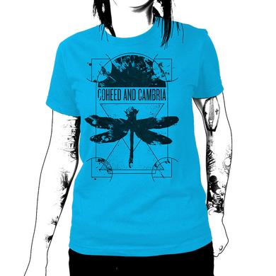 Coheed and Cambria Dissect T-Shirt (Turquoise) - Women's