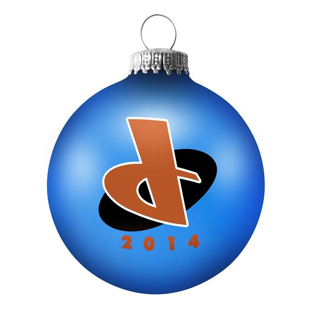 Daughtry D Logo Holiday Ornament