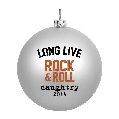 Daughtry Long Live Rock & Roll Holiday Ornament