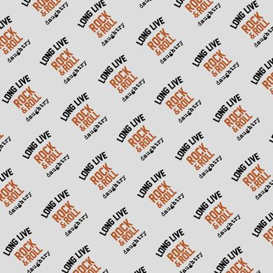 Daughtry Long Live Silver Wrapping Paper