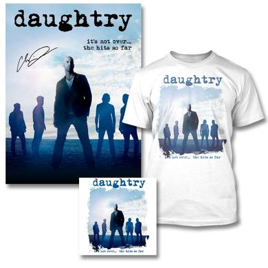 Daughtry It's Not Over Bundle - Signed Print + T-shirt + CD