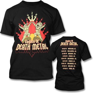 Eagles Of Death Metal Power Eagle AU 2014 Tour T-Shirt