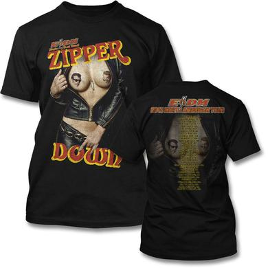 Eagles Of Death Metal Zipper Down Tour T-Shirt (U.S. 2015)
