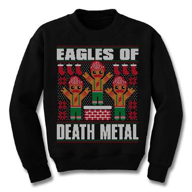 Eagles Of Death Metal Gingerbread Man Ugly Sweatshirt