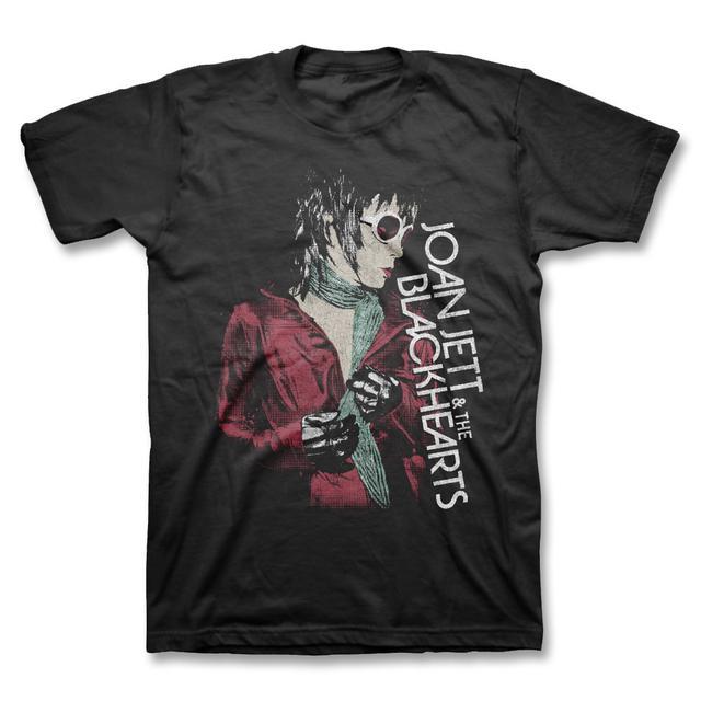 Joan Jett & The Blackhearts Red Jacket T-shirt