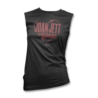 Joan Jett & The Blackhearts Spray Paint Logo Women's Muscle Tank