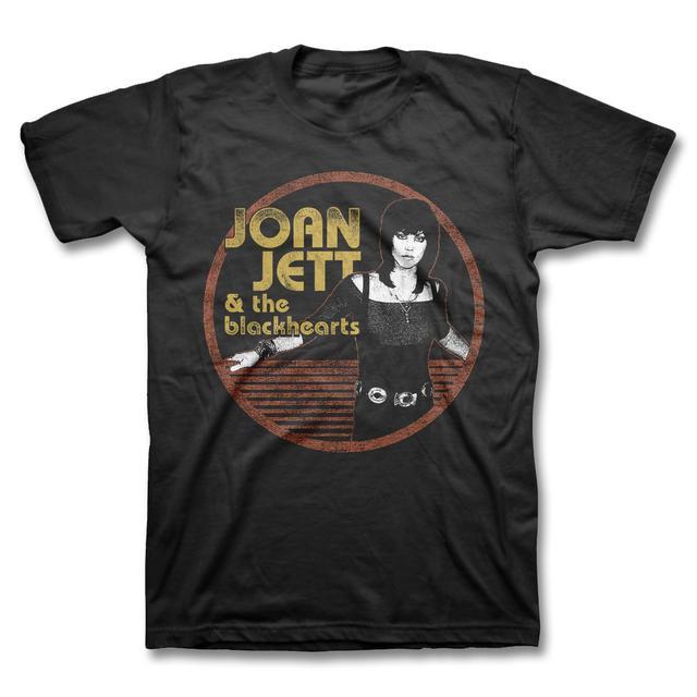 Joan Jett & The Blackhearts Jett Circle T-shirt - Men's