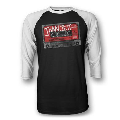 Joan Jett & The Blackhearts Cassette Raglan Shirt