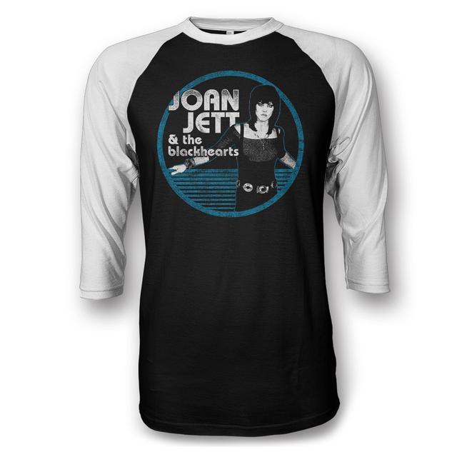 Joan Jett & The Blackhearts Jett Circle Raglan T-shirt