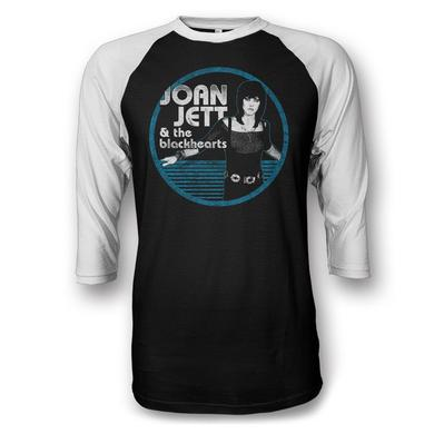 Joan Jett & The Blackhearts Jett Circle Raglan T-shirt