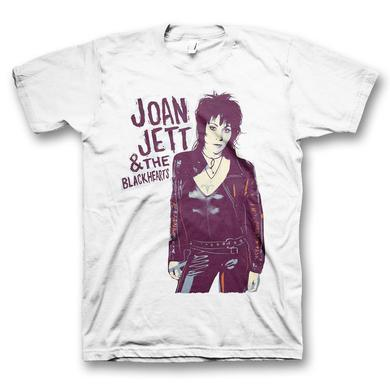 Joan Jett & The Blackhearts Joan Illustrated T-Shirt