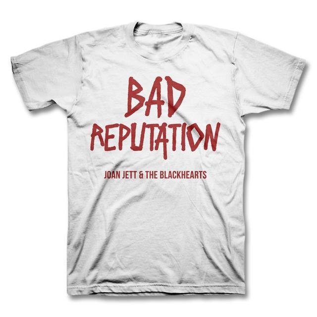 Joan Jett & The Blackhearts Bad Reputation Youth T-shirt - White