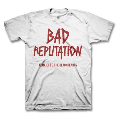 Joan Jett & The Blackhearts Bad Reputation Youth T-shirt - White